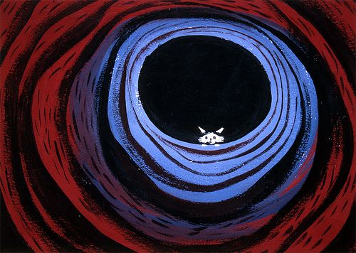Concept art by Mary Blair for Disney's animated Alice in Wonderland