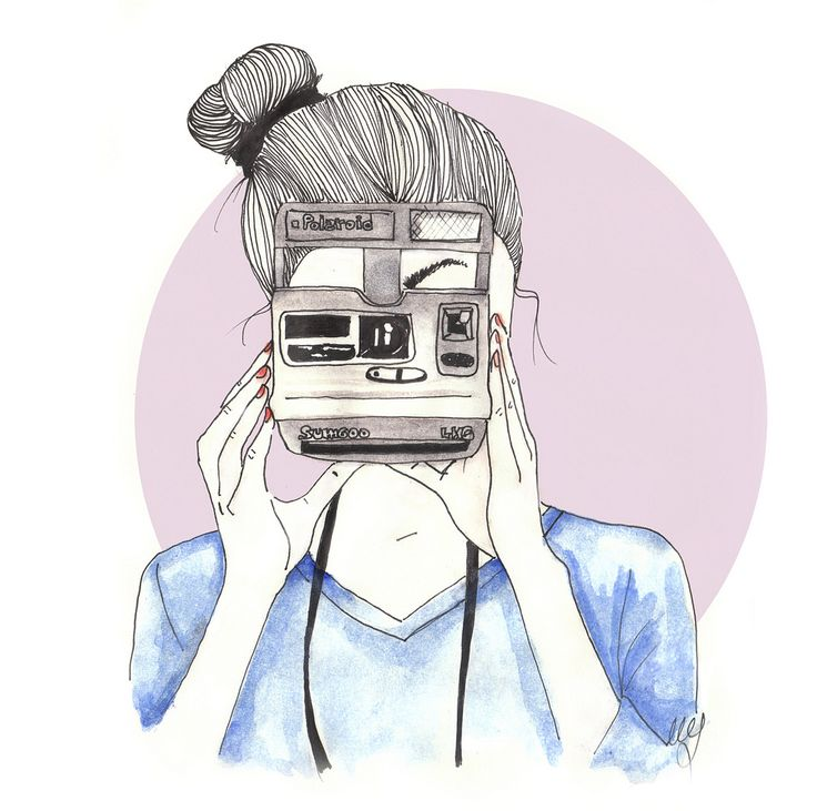 This has been me lately!... I've been carrying my Polaroid around everywhere.