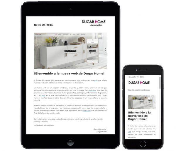 ¿Todavía no conoces nuestra newsletter? Mira todo lo que vas a encontrar en ella. Para suscribirte lo puedes hacer a través de nuestra web: http://dugarhome.com/ Encontrarás el enlace al final de la home :-) #diseño #hogar #interiores