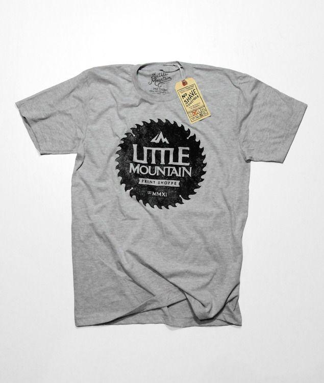 Little Mountain Print Shoppe U2014 Saw Blade. Shirt IdeasShirt DesignsT ...
