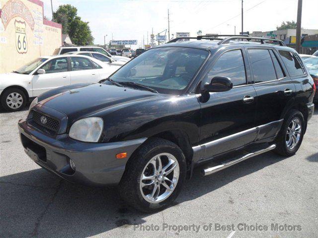 2003 Used Hyundai Santa Fe GLS 4WD at Best Choice Motors Serving Tulsa, OK, IID 12706887