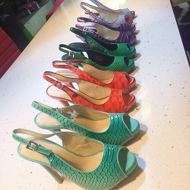 Our whole Slingback collection owned by another big fan. We have so many awesome Scarletto's Sisters!! #scarlettos #comfortable #shoes #love #fashion #fan #amazing #heels #highheels #worldwideshipping #life #happyfeet