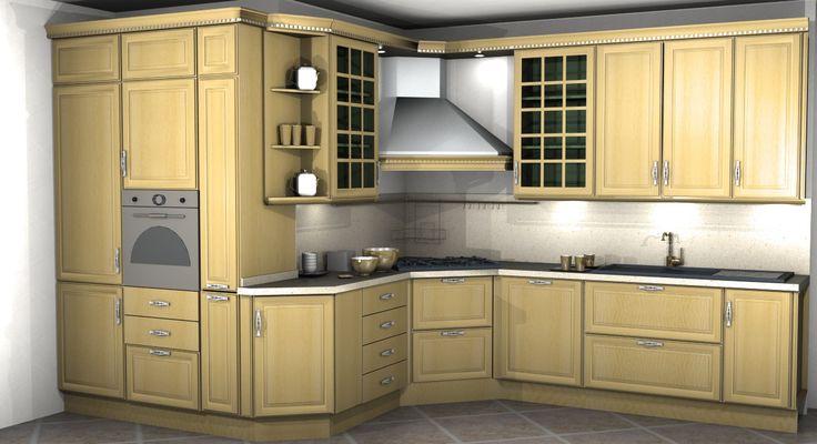 Cucina Baltimora by @Scavolini #design #cucina #kitchen #Scavolini #Baltimora #classic #Sermobil