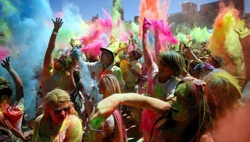 South African colour festival