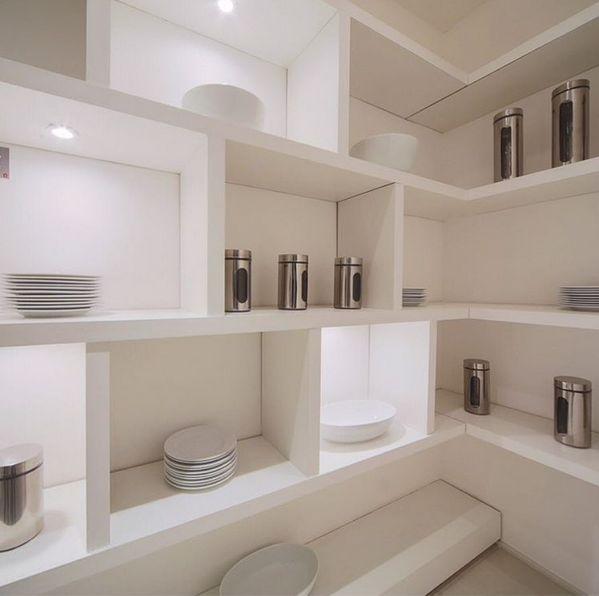 Mueble de pladur, realizado con placa de trillaje, perfilería