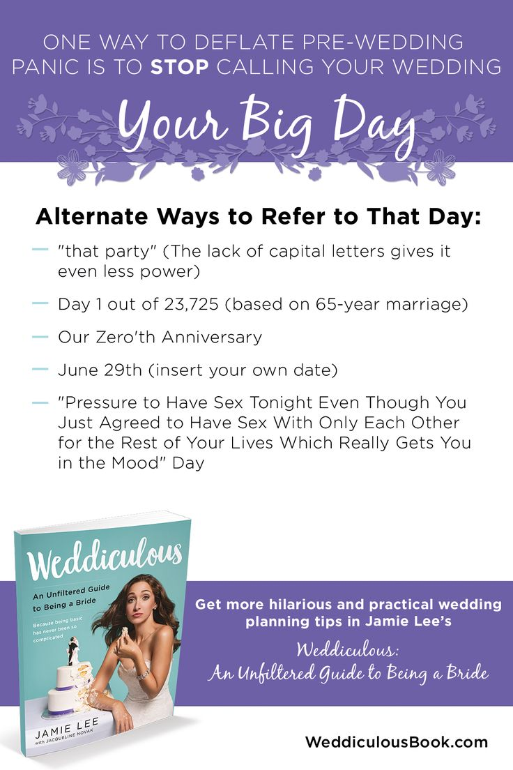 Don't let pre-wedding stress get to you.  Learn more in Weddiculous: An Unfiltered Guide to Being a Bride #weddingplanning