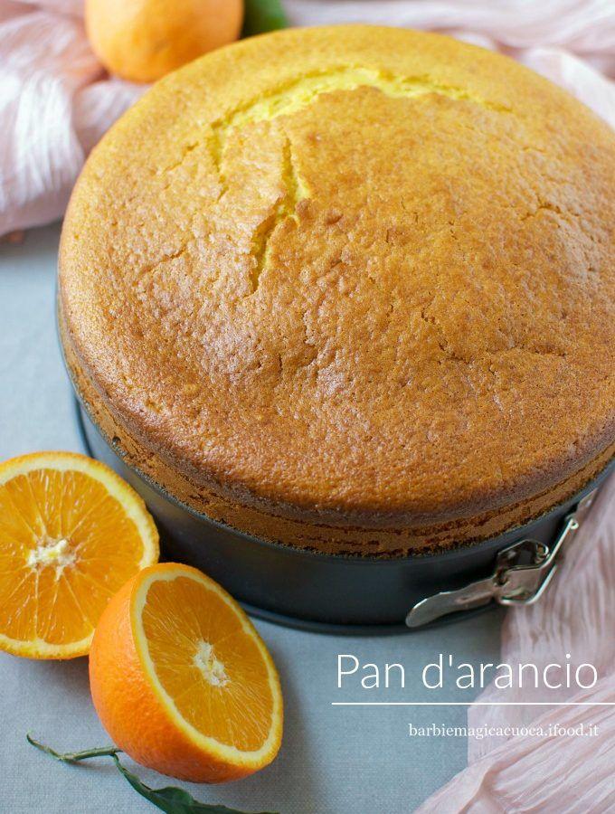 pan d'arancio (torta all'arancia nel mixer)