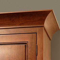 Cove Crown Molding | CliqStudios.com - Cove Crown molding features an architectural concave which provides a renaissance décor detail.
