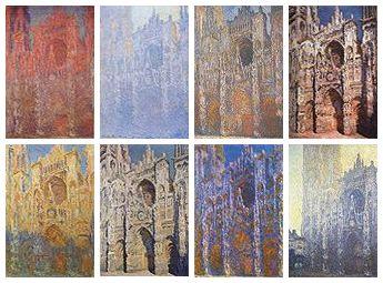 Claude Monet (1840-1926) Série des Cathédrales de Rouen.