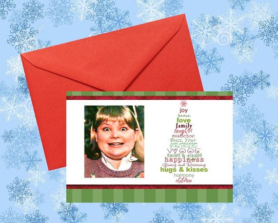 Home Alone Buzz Your Girlfriend Woof Hilarious Christmas Cards by ManCaveStore $4.99 #HomeAlone #ChristmasCards #GagGifts