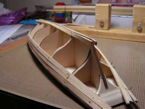 Model Ship Building Log - YouTube