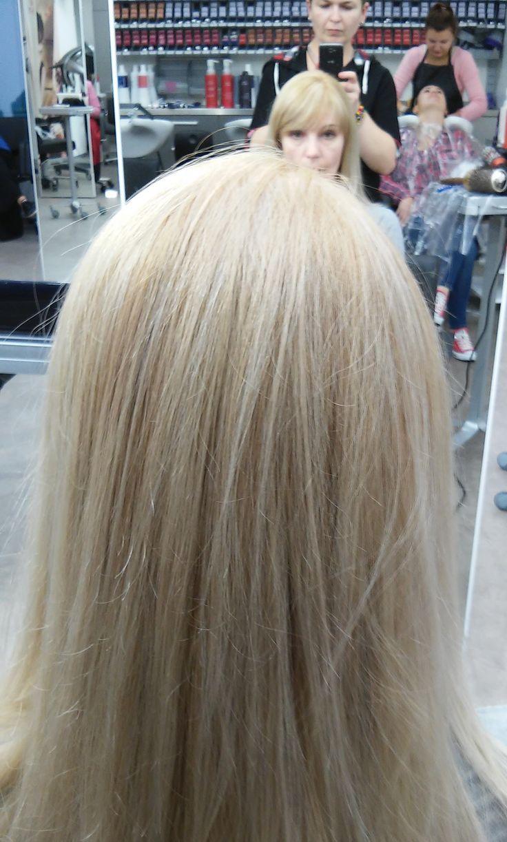 Мультитональное окрашивание/ Окрашивание Блонд/ Модный цвет волос/ Открытая техника окрашивания