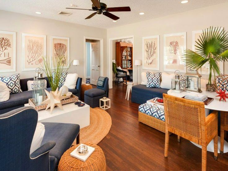 Best 20+ Nautical Living Rooms Ideas On Pinterest—no