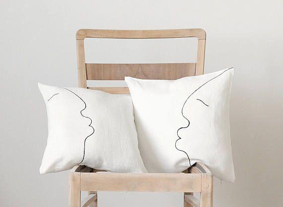 Modern pillow cover  minimalist modern throw pillows covers