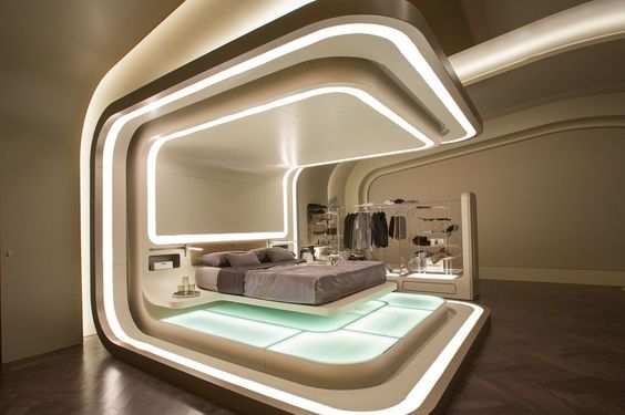 Futuristic Bedrooms Bedrooms From Future 01 28 Mouth Dropping Futuristic Bedrooms Bedrooms Ideas From Futuristic Bedroom Futuristic Interior Futuristic Home