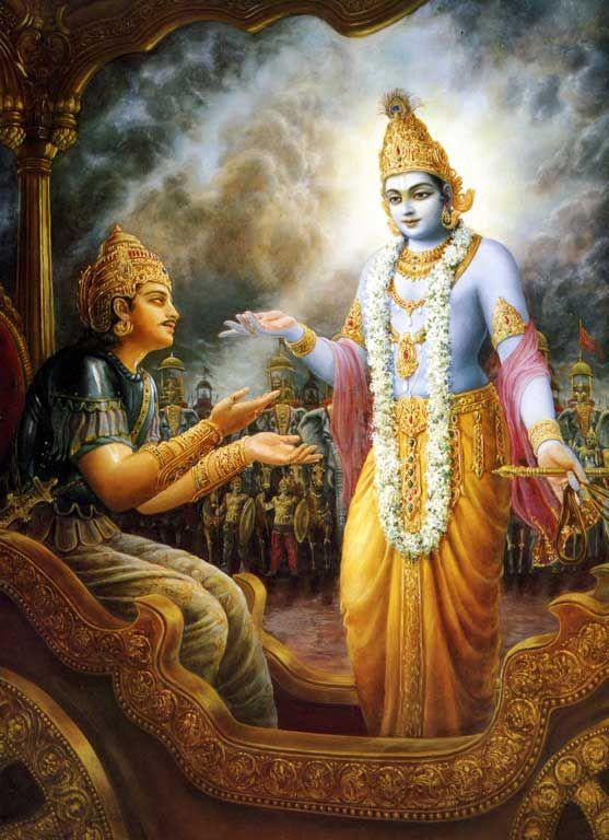 BHAGAVAD GITA {11 , 52} सुदुर्दर्शमिदं रूपं दृष्टवानसि यन्मम।  देवा अप्यस्य रूपस्य नित्यं दर्शनकाङ्क्षिणः॥   LORD CAN BE SEEN BY DEVOTIONAL LOVE  Lord Krishna said: This four-armed form of Mine that you have seen is very difficult, indeed, to see. Even celestial controllers are ever longing to see this form. (11.52)