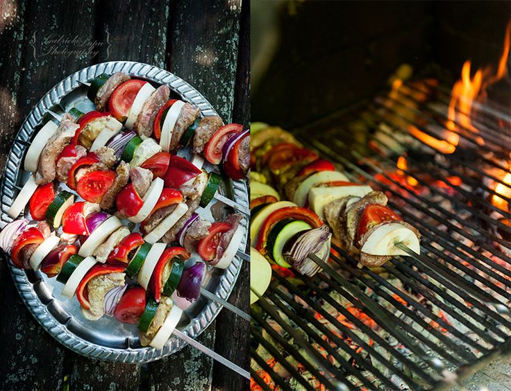 Cooking without Limits – Food Photography & Recipes - skewers for a party or a family gathering