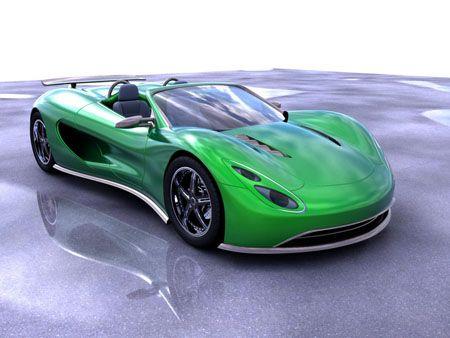 Scorpion hydrogen sports car concept