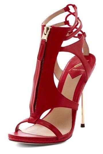 B Brian Atwood Merritta Zipper Pump - s.e.x.y. #redpump #vevelicious