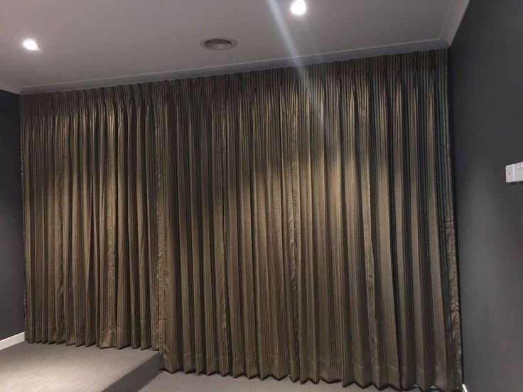 Cinema / Theatre room, One of the completed work of curtains / drapes by Majestic Curtains & Blinds