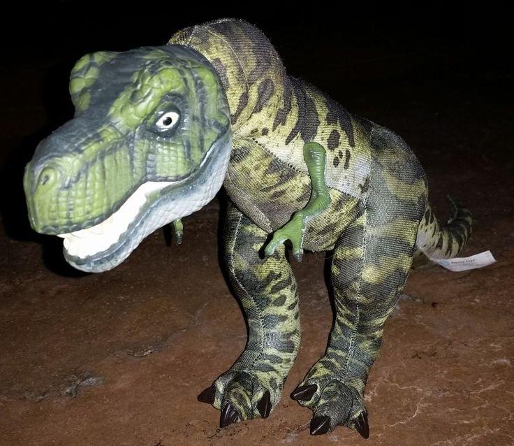 1997 Jurassic Park Lost World Jp T Rex Dinosaur Plush
