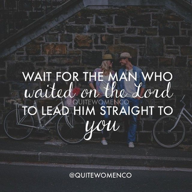 Christian dating how to be patient and wait