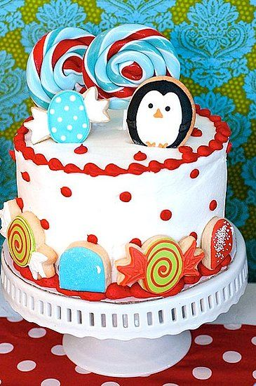 Christmas Table cake