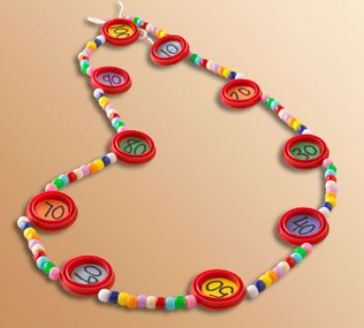 100th Day of School Necklace