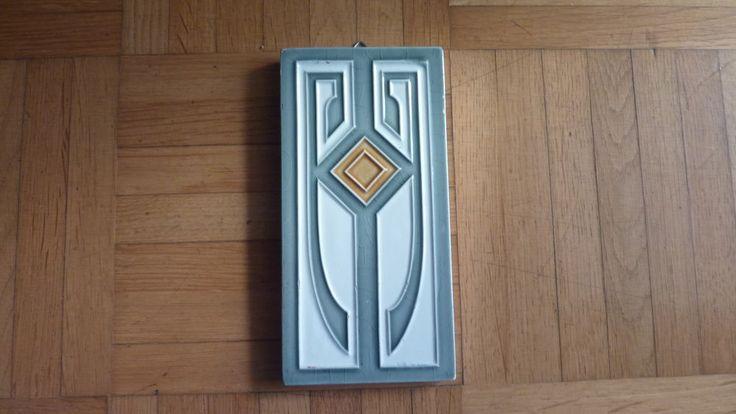 Jugendstil Fliese Kachel Art Nouveau Tile Oschatz