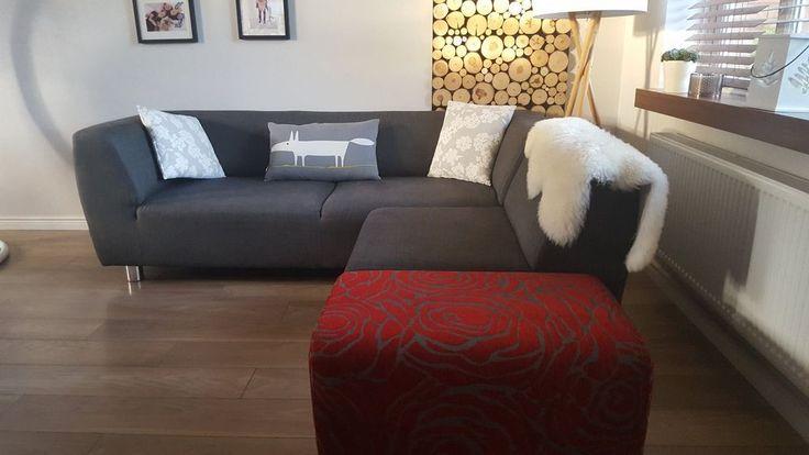 Sofa DFS - Dark Grey in Home, Furniture & DIY, Furniture, Sofas, Armchairs & Suites | eBay