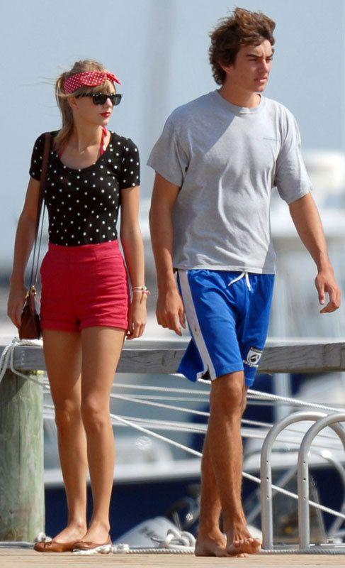 Taylor Swift (24) y Conor Kennedy (20): Es una de las 'celebs' a las que les dura menos las relaciones sentimentales. En el verano de 2012, mantuvo una relación con Conor. Sin embargo, tres meses después, fue él el que decidió acabar con la relación ya que se sentía agobiado.