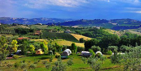 Kleine campings Italie