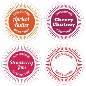 chutney label templates - Gotta.yotti.co