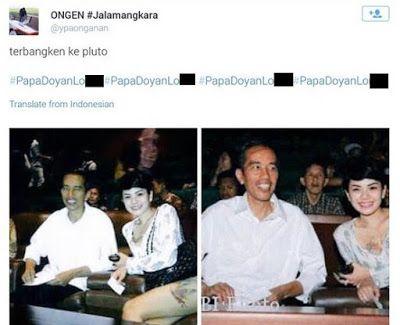 Trending post one: Isi  Surat Terbuka ketiga Anak Ongen untuk Jokowi