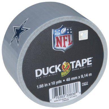 NFL Licensed Duck Tape® - Dallas Cowboys