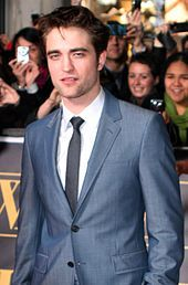 Robert Pattinson is an English actor famous for his roles in Harry Potter and Twilight