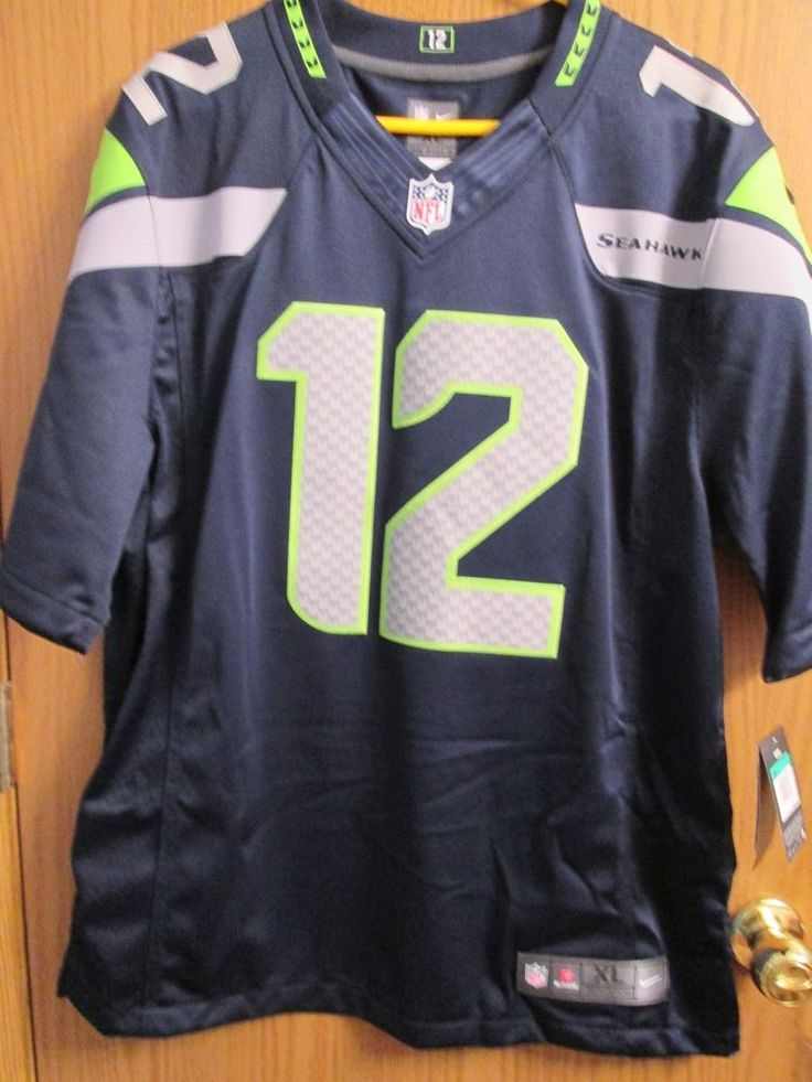 Seattle Seahawks 12th Man Fan Jersey Men XL