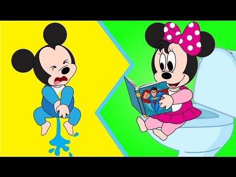 Mickey Mouse Babies Graffiti Crying in Prison New Episodes! Minnie Mouse, Donald Duck New Cartoon - YouTube