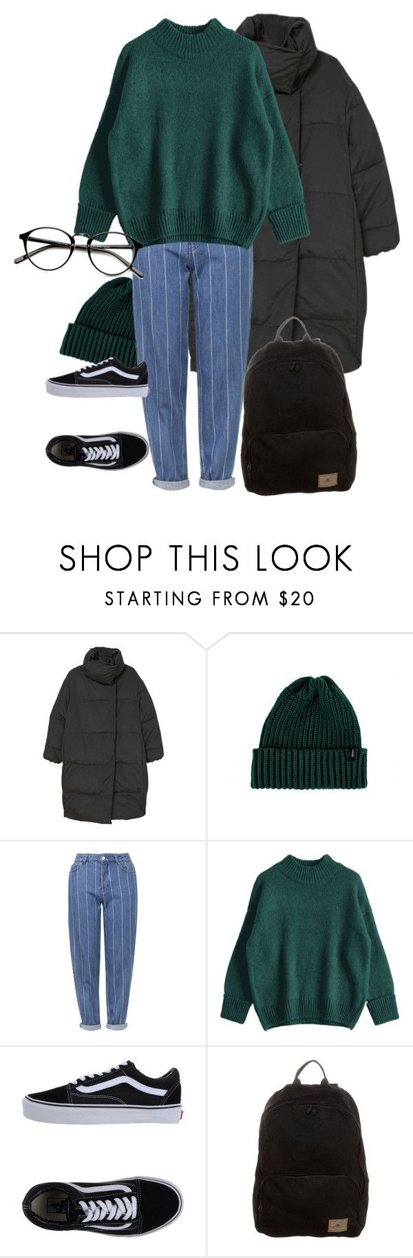 """26.10.2017"" by klorikon00 on Polyvore featuring MANGO, Brixton, Topshop, Vans and O'Neill"