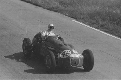 #46 Stirling Moss (GB) - HWM 52 (Alta 4) withdrawn by team (9) HW Motors
