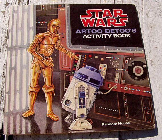 Star Wars Artoo Detoo's Activity Book 1979 Random House