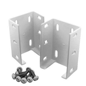 Veranda Aluminum Fence Bracket Kit 2 Pack 73012344 At