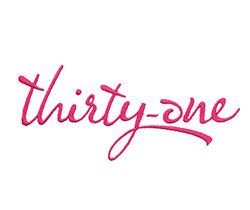 Example of a Thirty-One Logo