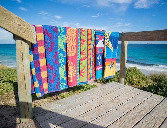 Το μυστικό για να μην σκληραίνουν οι πετσέτες θαλάσσης