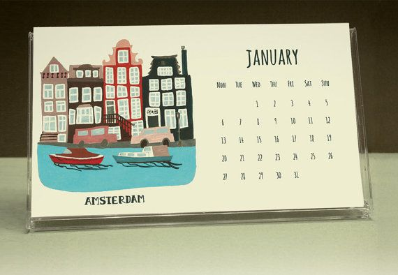 2014 Desk Calendar by BeauEstMien