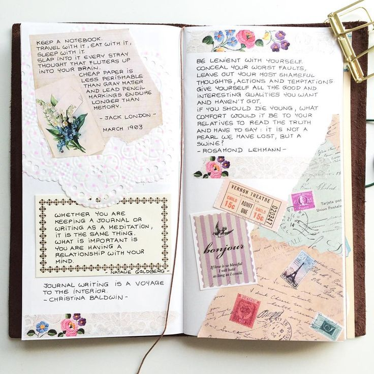 08.08.2015: Are you keeping a journal yet? It is a great way to be creative…