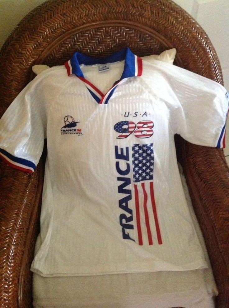 rare vintage 1998 wold cup USA soccer jersey size S/M Men's   Sports Mem, Cards & Fan Shop, Fan Apparel & Souvenirs, Soccer-National Teams   eBay!