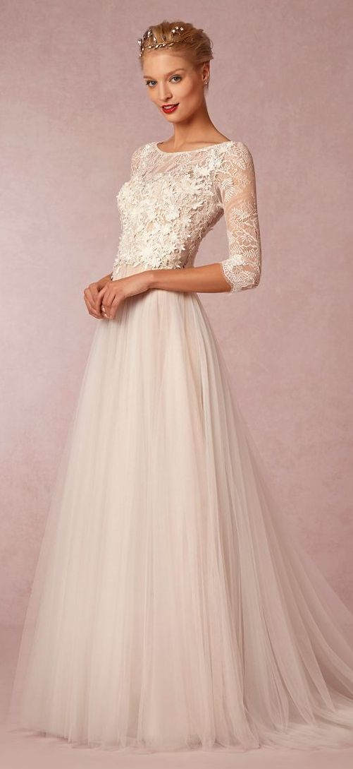Vintage Wedding Dresses; BHLDN