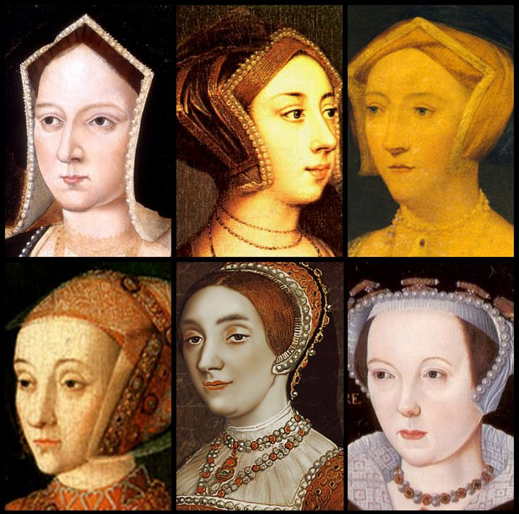 King Henry the 8th had six wives, Katherine Parr, Catherine of Aragon, Anne Boleyn, Katherine Howard, Anne of Cleves and Jane Seymour