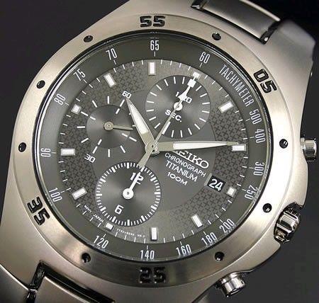 17 best ideas about seiko titanium seiko watches best quality watches seiko men s titanium chronograph snd419p1 £164 99